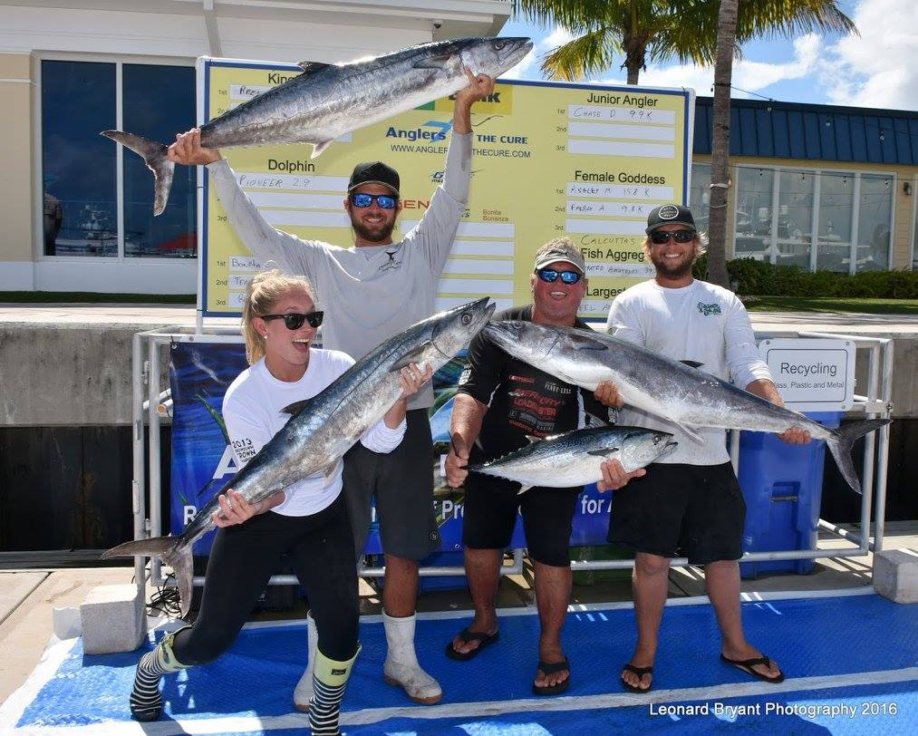 Anglers for the Cure Kingfish Weigh In 2016