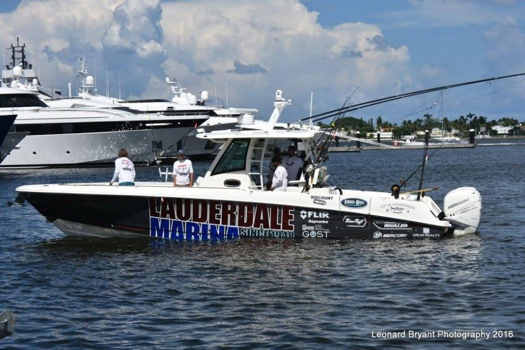 Anglers for the Cure 2016 Boats