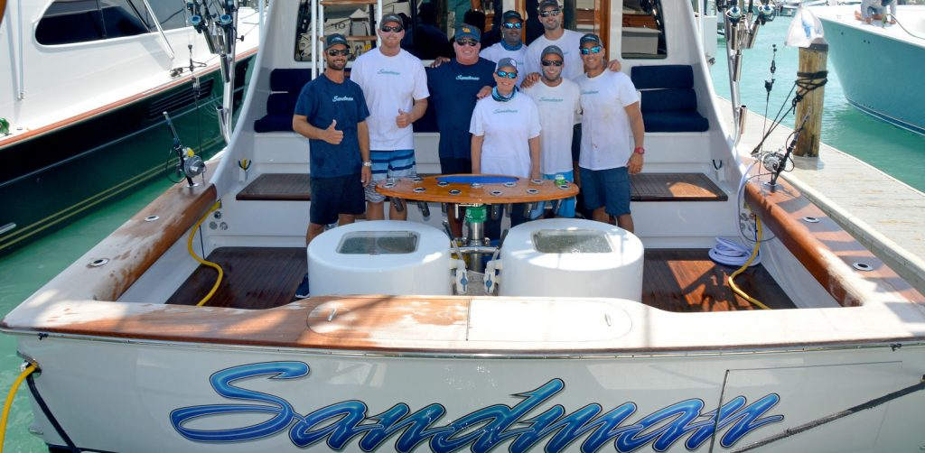 team sandman at the final sail