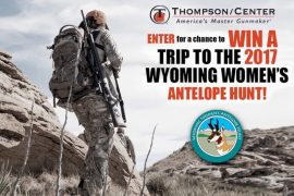 Win a trip to the 2017 Wyoming Women's Antelope Hunt