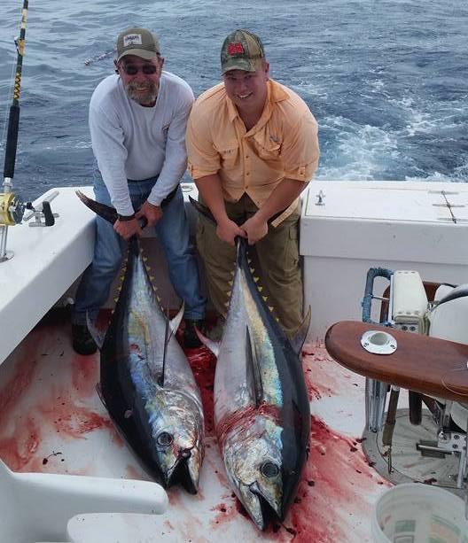 Tuna Caught on Predator Sport Fishing
