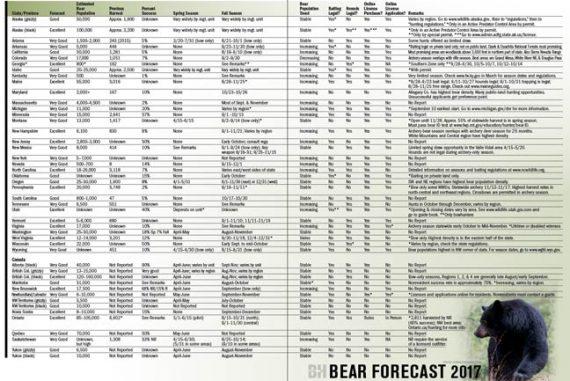 2017 Bear Forecast