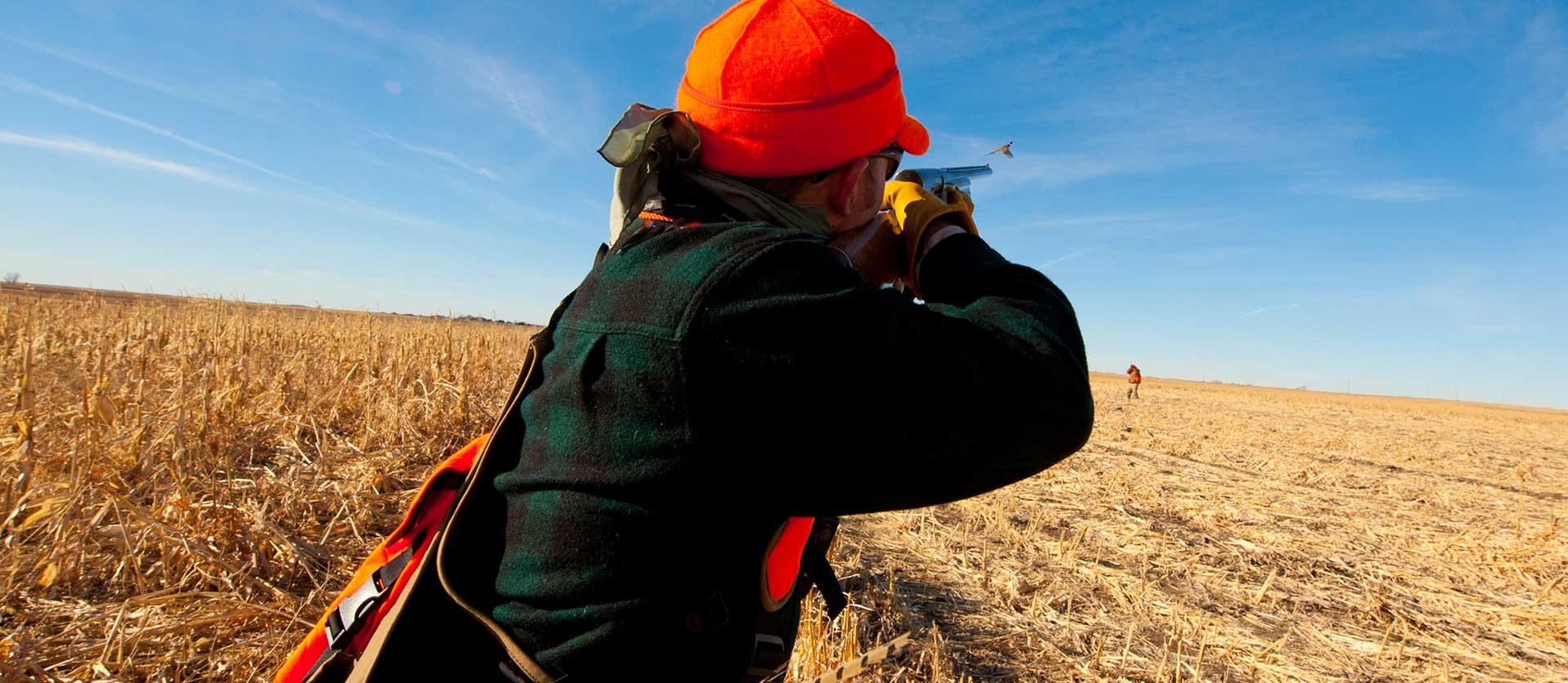Hunting at Thunderstik Lodge