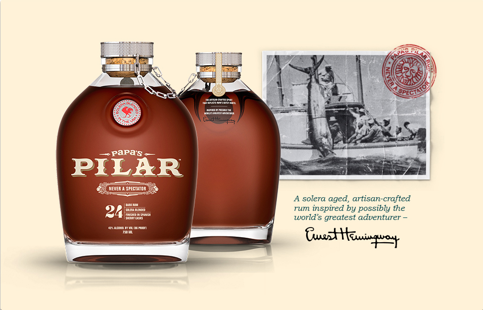 Papa's Pilar Rum for Father's Day