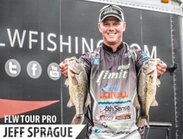 FLW Tour Pro Angler Jeff Sprague on the Radio
