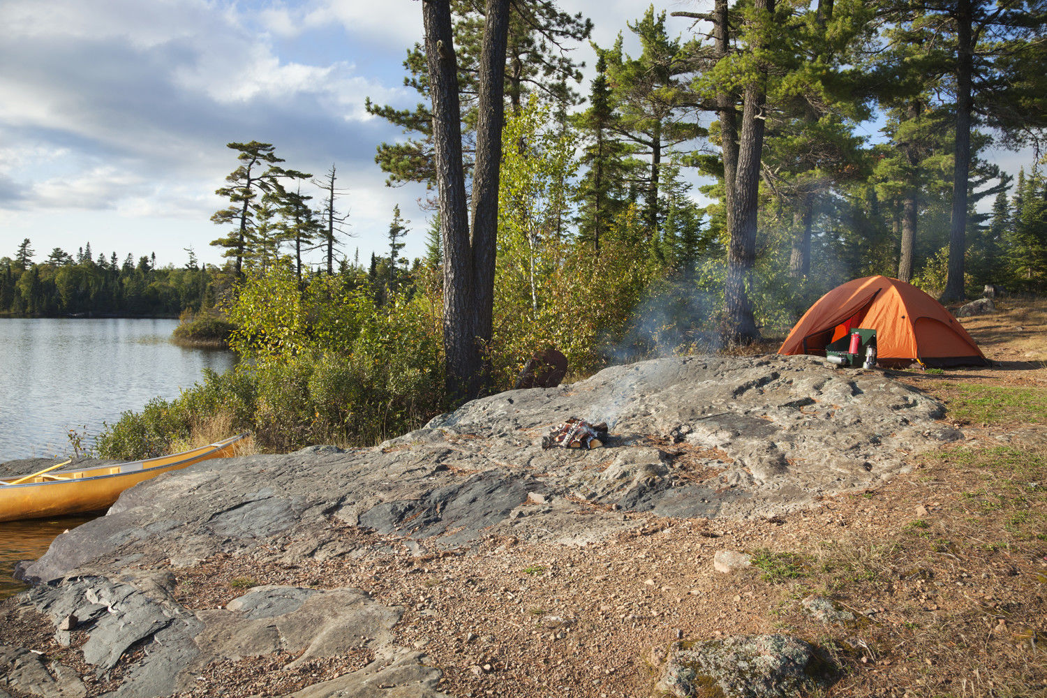 Canoe Camping Tips Fin And Field Blog