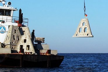 Mexico Beach Artificial Reef Placement Complete
