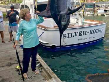 Pending Ladies World Record Blue Marlin Caught in Madeira