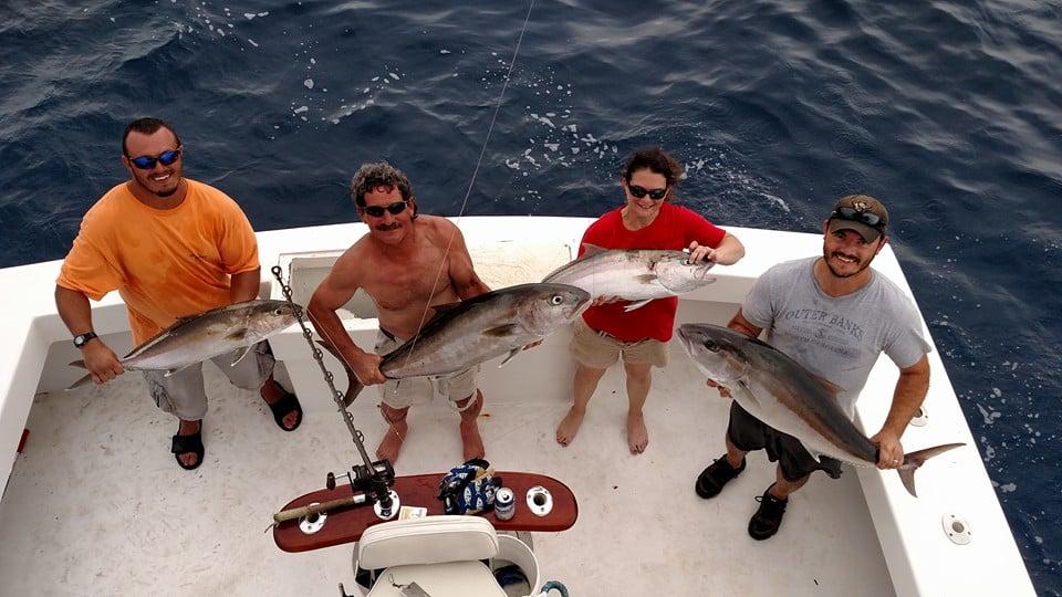 Amberjack on Predator Sport Fishing