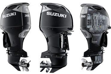 Suzuki Introduces DF350A 350HP V6 4-Stroke Outboard