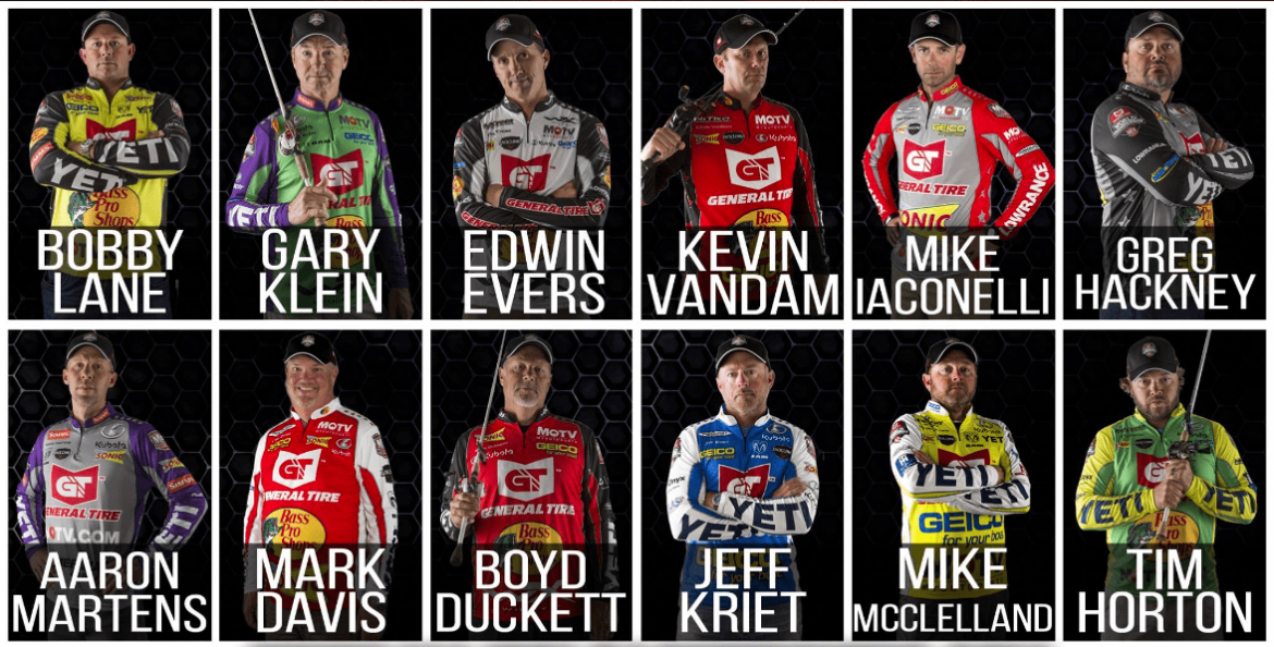 Top twelve in mlf championship fin and field blog for Major league fishing world championship