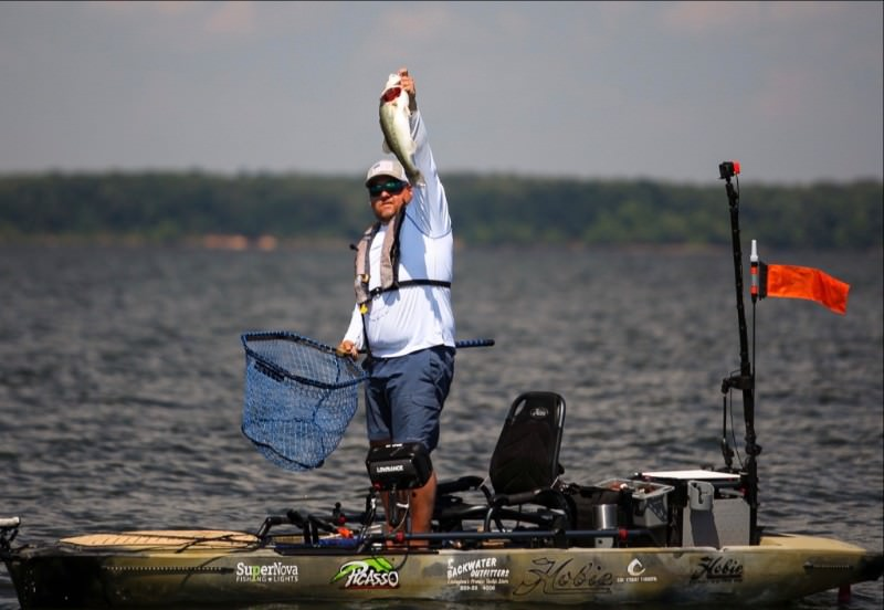 Wallen wins hobie bass open fin and field blog for Fishing pro staff