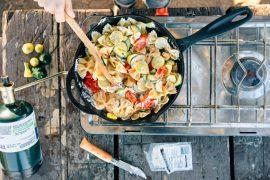 Camp Recipe: One-Skillet Pasta Primavera