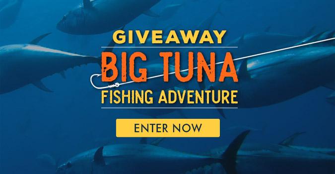 Big Tuna Fishing Adventure Giveaway