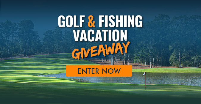 Golf & Fishing Vacation Giveaway
