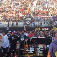 Crowds gather at Bristol Motor Speedway