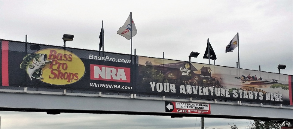 Bass Pro Shops and the NRA team up to bring you the Monster Energy Cup race at Bristol Motor Speedway