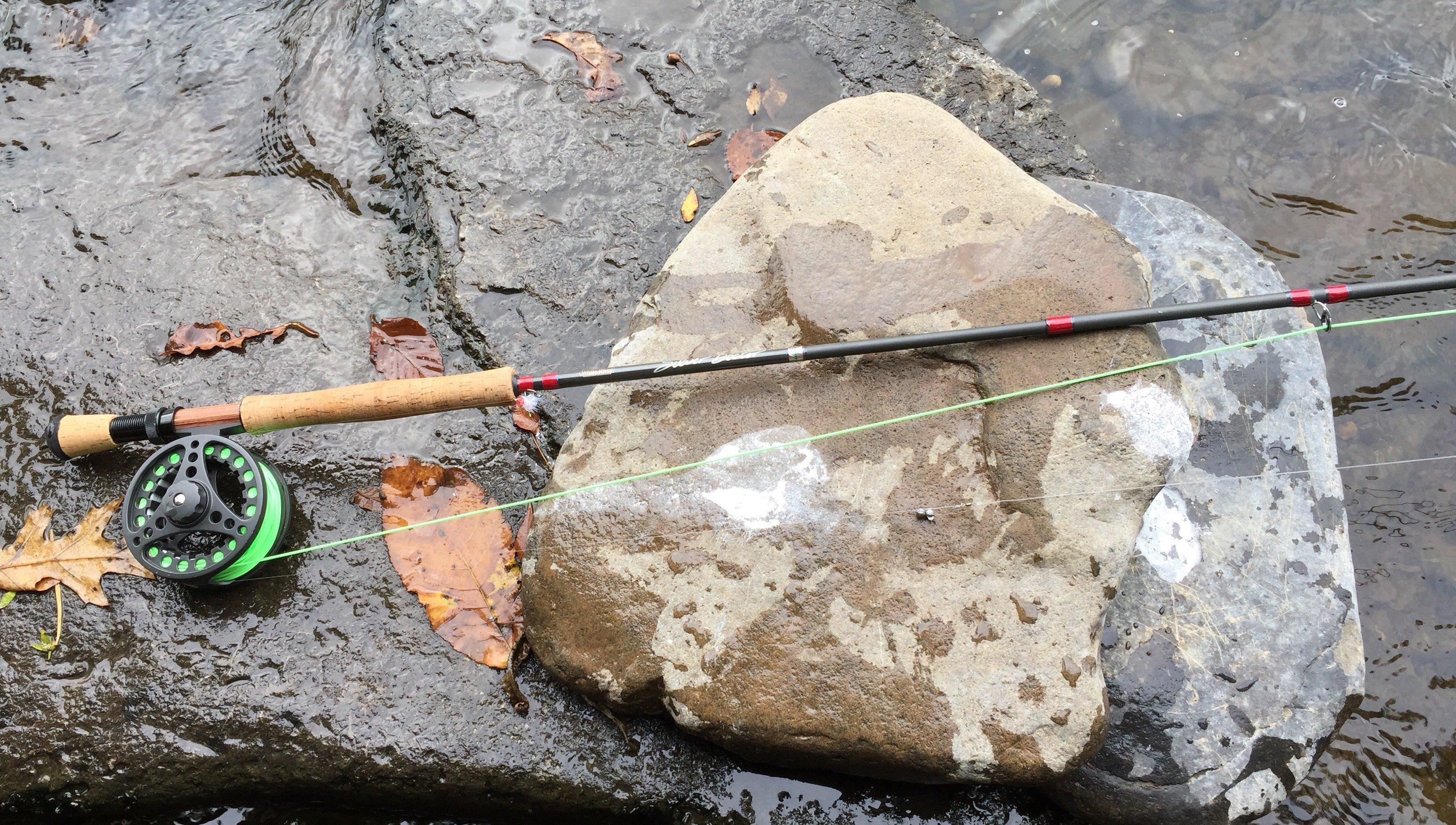 Fly fishing the Douglaston Salmon Run