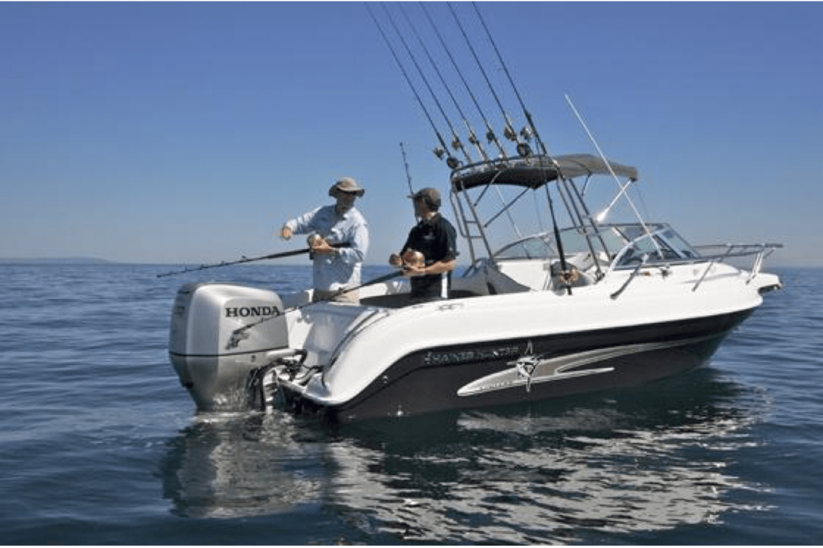 Fishing boats explained fin and field blog for Fishing pontoons for sale