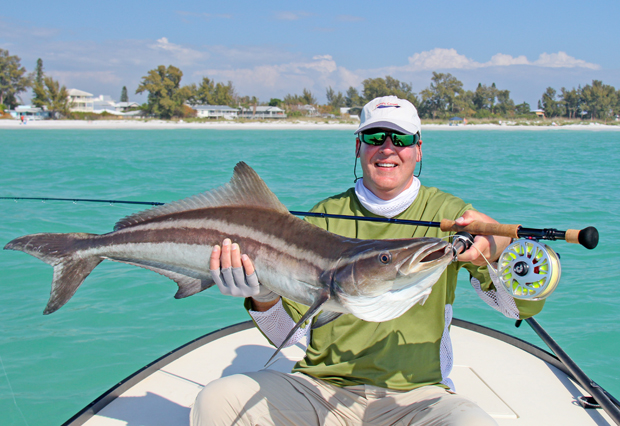Fly fishing for cobia fin and field blog for Bay fishing destin fl
